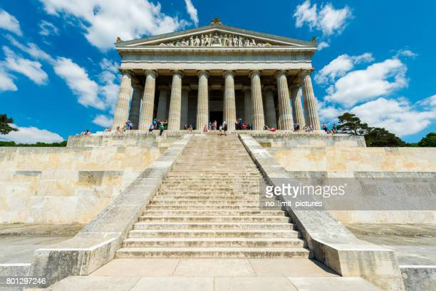 walhalla memorial - regensburg stock photos and pictures