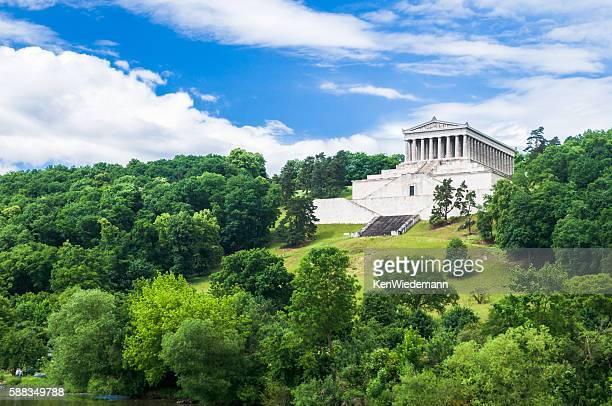 ヴァルハラ神殿 - レーゲンスブルク ストックフォトと画像