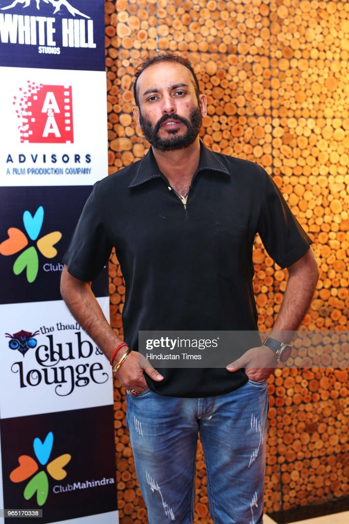 Walia owner The Theatre Club And Lounge during the promotion of upcoming Punjabi movie Carry On Jatta 2 at The Theatre Club Lounge Paschim Vihar on...