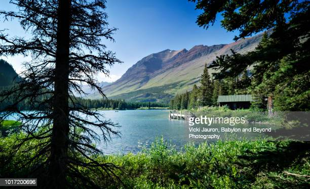 A Walk Around Swiftcurrent Lake at Many Glacier, Glacier National Park