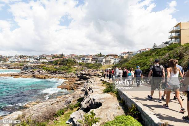 Walk around the ocean, Bondi to Coogee coastal walk