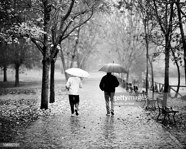 Walk in the Park. Black and White