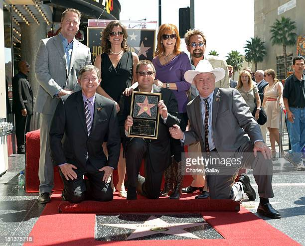 Walk of Fame assistant Hollywood Chamber of Commerce chair Christopher Barton Hollywood Chamber of Commerce president/CEO Leron Gubler recording...