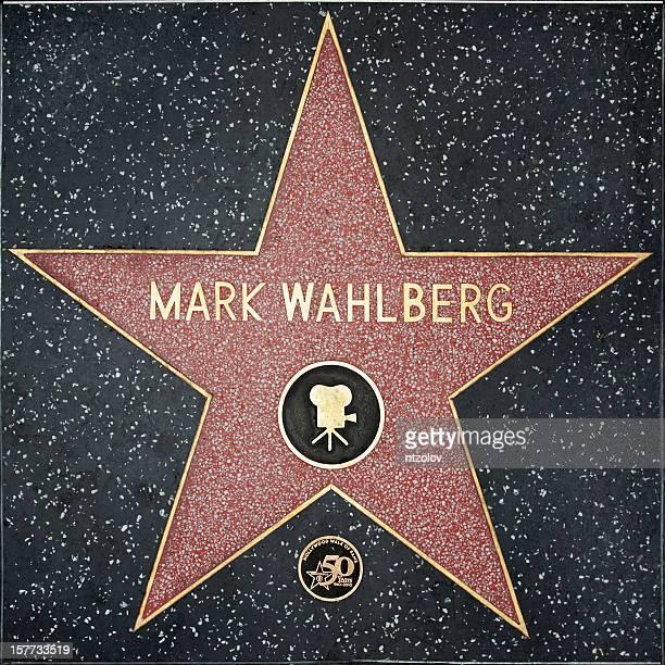 Walk of Fame Hollywood Star - Mark Wahlberg