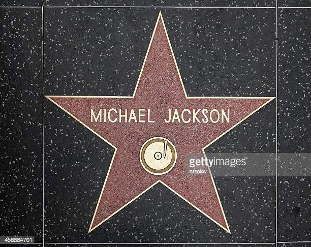 Walk of Fame Hollywood Star - Michael Jackson