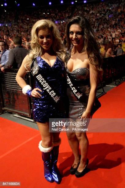 Walk on girls Hazel O'Sullivan and Kelly Donegan