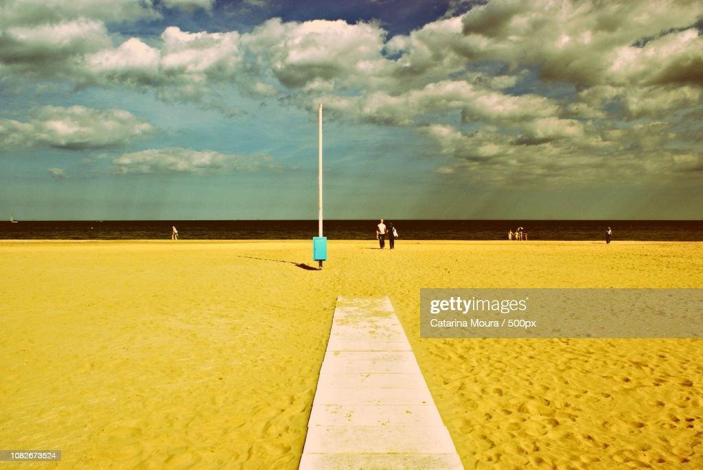 A Walk On The Beach : Stock Photo