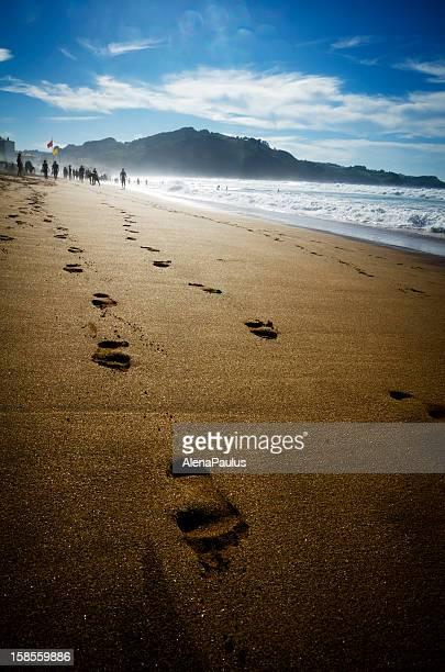 Walk on the mistic Beach