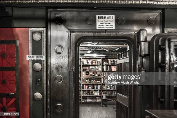 a walk through the last bookstore in downtown los angeles, california. - the last bookstore los angeles stock pictures, royalty-free photos & images