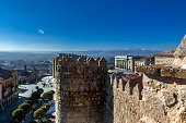 Walk through the walls of Avila, Spain