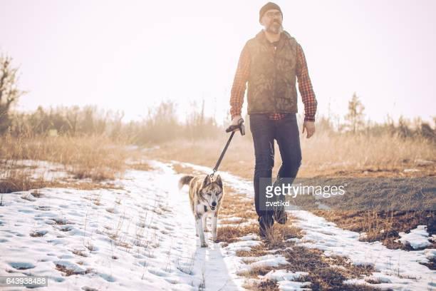 Walk with my furry friend!