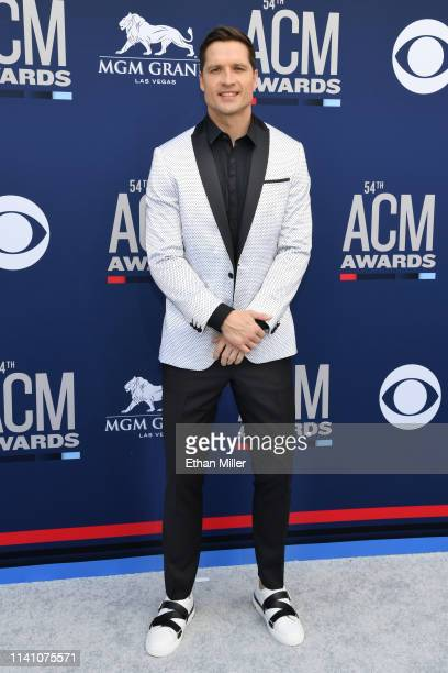 Walker Hayes attends the 54th Academy Of Country Music Awards at MGM Grand Hotel Casino on April 07 2019 in Las Vegas Nevada