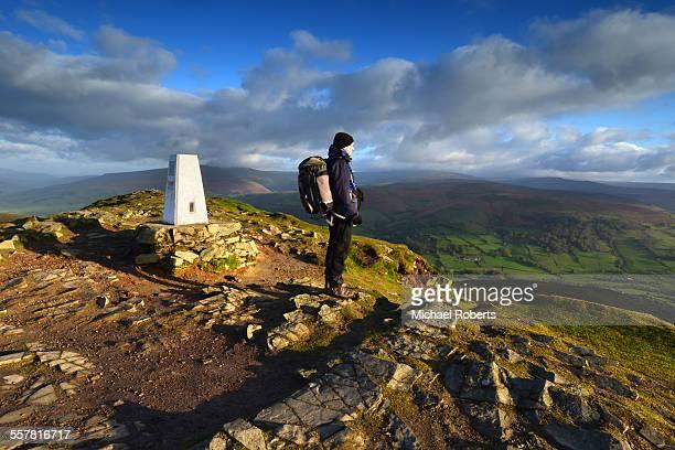Walker on summit of Sugar Loaf mountain