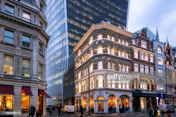 walkie talkie, city of london, london, england - central london stock pictures, royalty-free photos & images