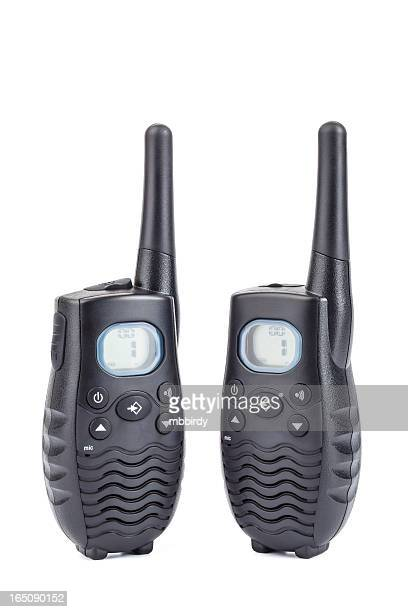 Walkie-talkies, isolated on white, clipping path