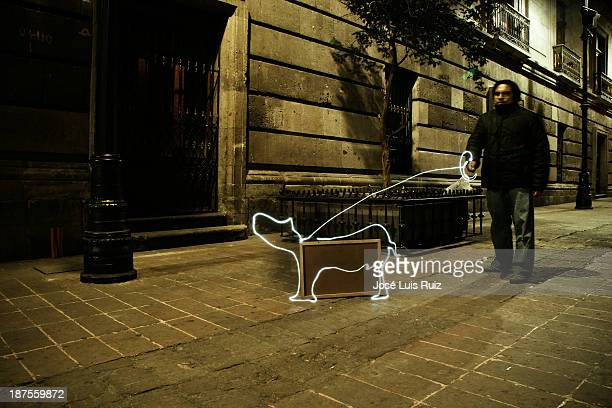 Walking a light dog