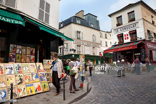 Walking about Montmartre streets