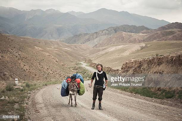Walking across Kyrgyzstan with a donkey