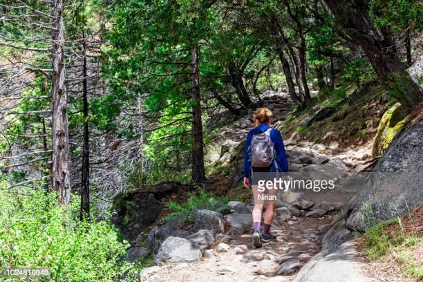 Walking Across The Yosemite