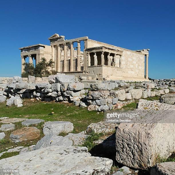 walking among ancient stones