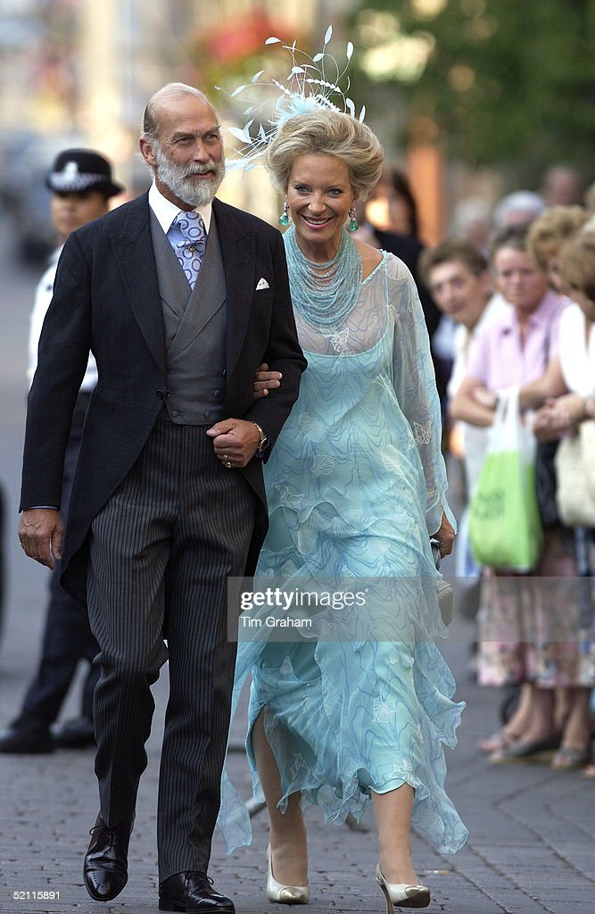 walking-arm-in-arm-prince-and-princess-michael-of-kent-arriving-as-picture-id52115891