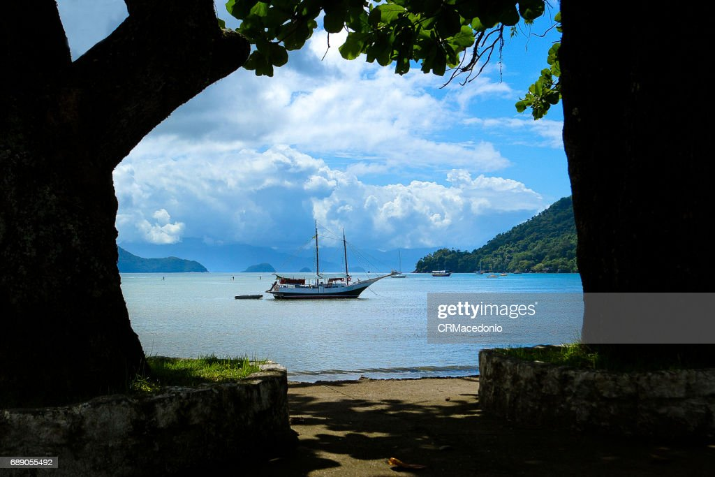 Walking around Ubatuba. : Stock Photo
