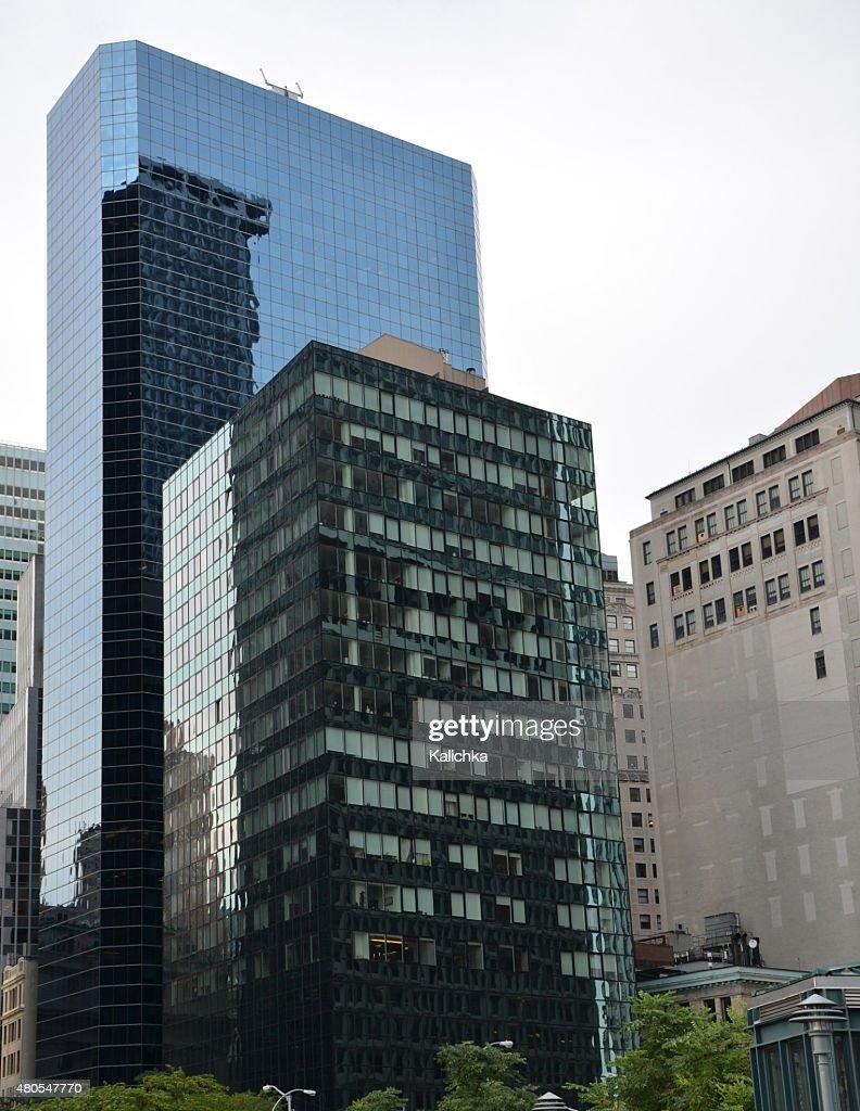 Fuß in der New York Street : Stock-Foto
