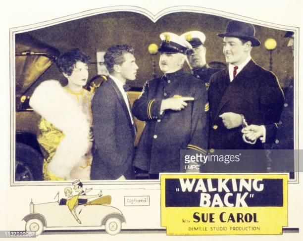 Sue Carol Richard Walling far right Ivan Lebedeff on lobbycard 1928