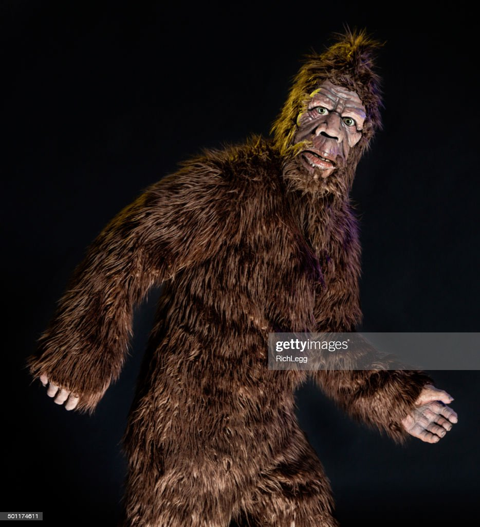 Walking Bigfoot : Stock Photo