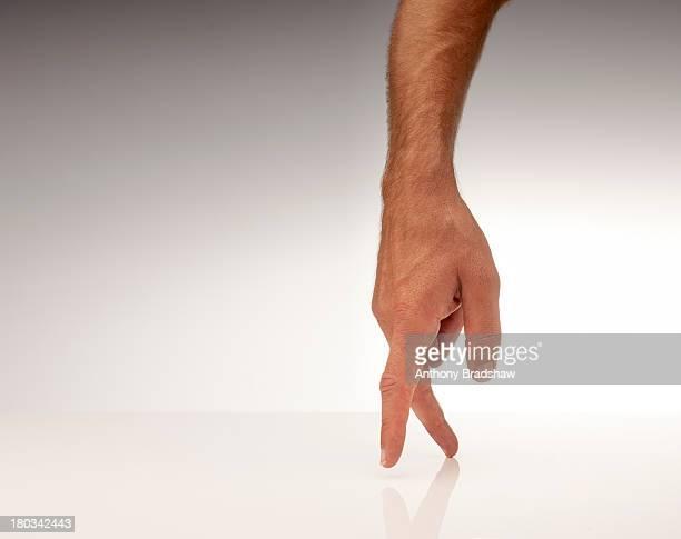 Walking fingers