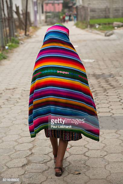 walking home - guatemala stock pictures, royalty-free photos & images