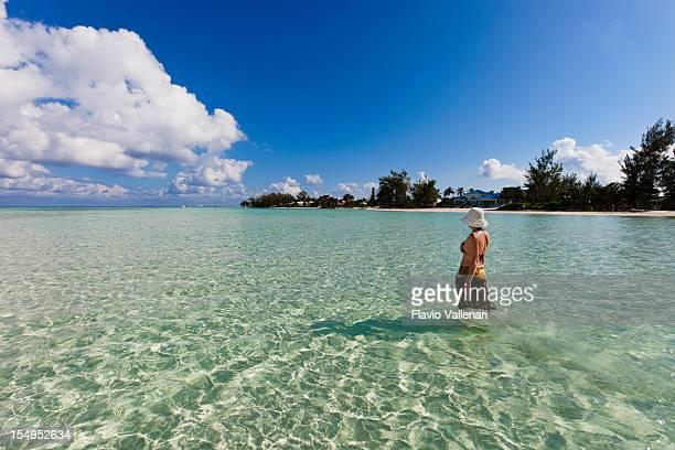 Walking In Clear Waters, Grand Cayman