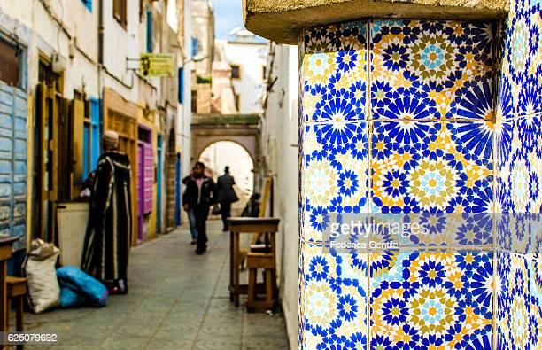 Walking in Essaouira