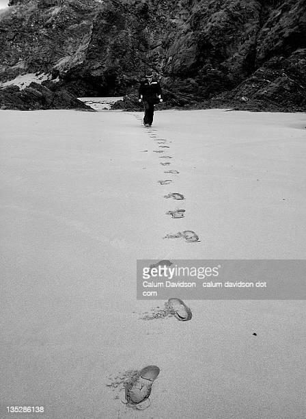 Walking in footsteps