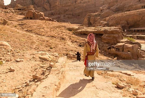 Walking in Petra