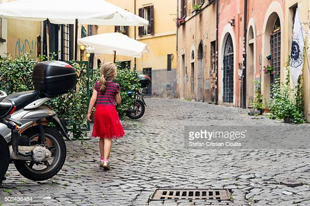 Walking in Trastevere, Rome
