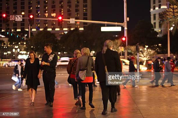 Fuß in Las Vegas