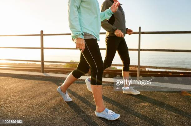 walking keeps you healthy - human leg stock pictures, royalty-free photos & images