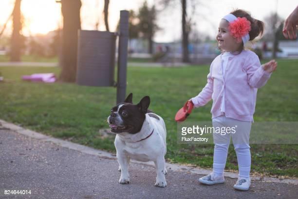 犬のお散歩