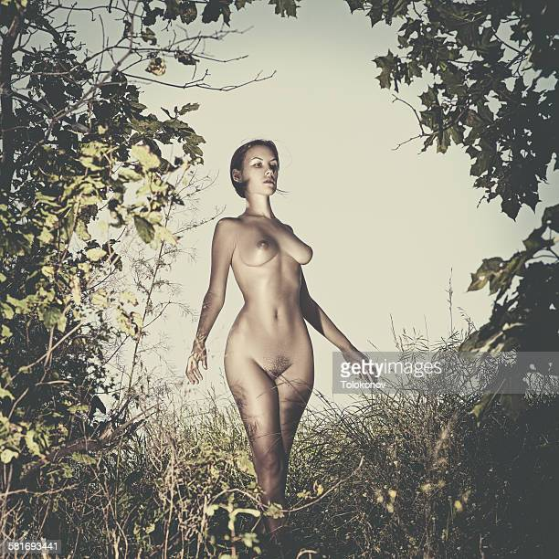 walking nude - ukraine stock photos and pictures