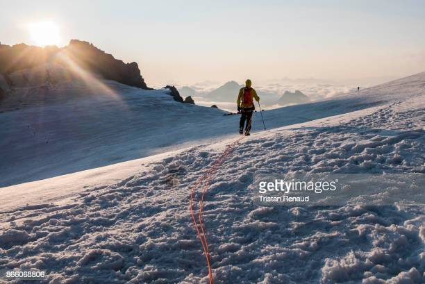 Walking on a glacier 2