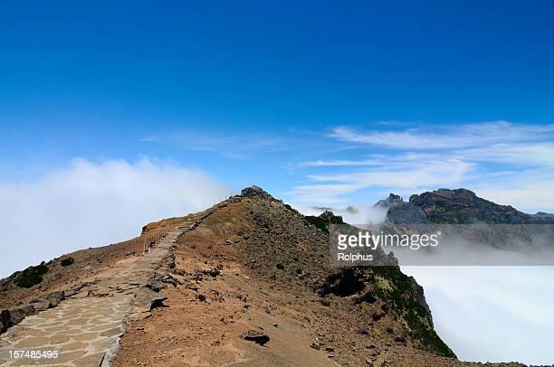 Walking on Mountains of Madeira Pico Arieiro Morning