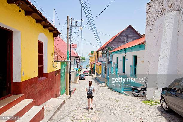 Walking on the Streets of Flores