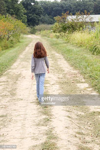 walking - little girls bare bum stock pictures, royalty-free photos & images