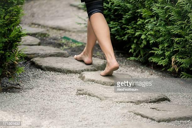 Zu der stepping stones