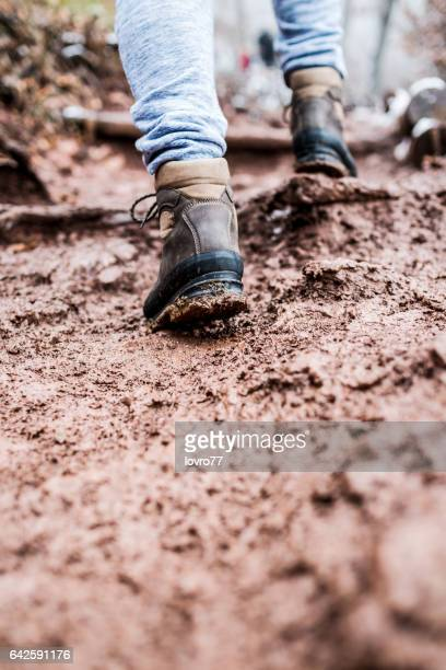 walking through the mud - dirty feet stock pictures, royalty-free photos & images