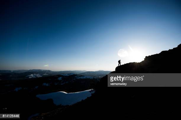 walking towards destination - steep stock photos and pictures