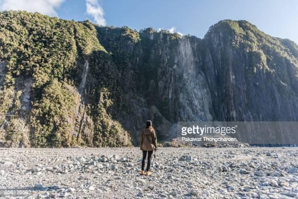 Walking Trail to Fox Glacier Terminus, South Island, New Zealand