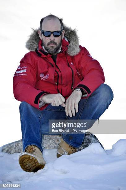 Walking with the Wounded charity cofounder Ed Parker arrives back at Longyearbyen in the Arctic Norewgian islands of Svalbard after a successful trip...