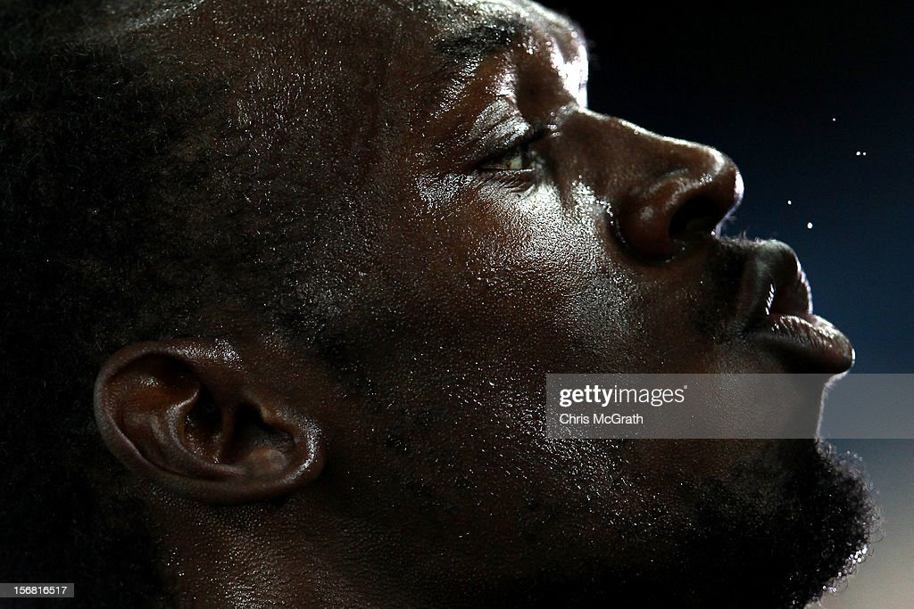 Walkley Press Photographer of The Year Portfolio on November 22, 2012 in Singapore. Image Caption: Usain Bolt of Jamaica celebrates claiming gold in the men's 200 metres final during day eight of the 13th IAAF World Athletics Championships at the Daegu Stadium on September 3, 2011 in Daegu, South Korea.